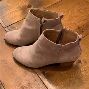 Lands end booties size 9 1/2